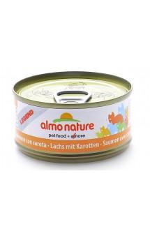 Legend Adult Cat Salmon&Carrot, консервы для кошек Лосось и Морковь / Almo Nature (Италия)