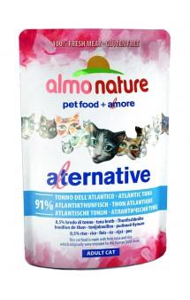 Alternative Adult Cat Atlantic Tuna, паучи для кошек Атлантический тунец -91% / Almo Nature (Италия)