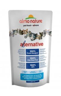 Alternative Adult Cat Sturgeon and Rice, корм для кошек со свежим Осетром -55% / Almo Nature (Италия)