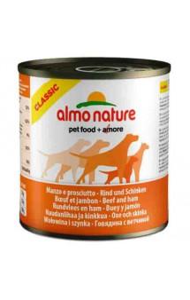 Classic Adult Dog Beef&Ham, консервы для собак с Говядиной и ветчиной / Almo Nature (Италия)