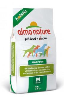 Medium and Lamb, корм с Ягненком для собак средних пород / Almo Nature (Италия)