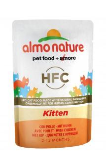 Classic Cuisine Kitten, паучи для котят / Almo Nature (Италия)