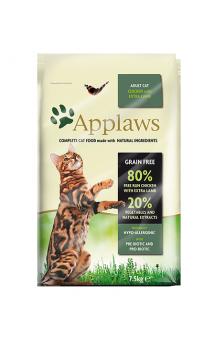 Adult Cat Chicken with Extra Lamb, корм для кошек с Курицей и Ягненком / Applaws (Великобритания)