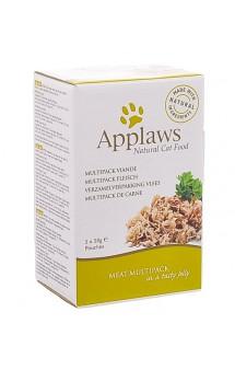 Meat Multipack in jelly, набор паучей для кошек Мясное ассорти, в желе / Applaws (Великобритания)