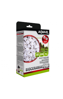 Напонитель BioCeraMAX 1200, цилиндры, 1 л / Aquael (Польша)