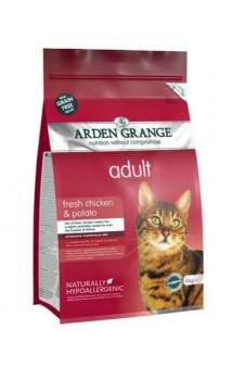 Adult Cat fresh Chicken and Potato, корм для кошек с Курицей и Картофелем / Arden Grange (Великобритания)