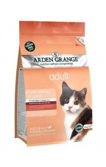 Adult Cat fresh Salmon and Potato, корм для кошек с Лососем и Картофелем / Arden Grange (Великобритания)