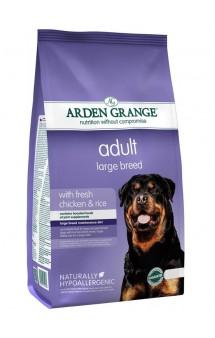 Adult Large Breed with fresh chicken and rice, корм для крупных собак с Курицей и Рисом / Arden Grange (Великобритания)