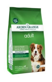 Fresh Lamb and Rice adult, корм для собак с Ягненком и Рисом / Arden Grange (Великобритания)