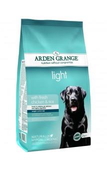 Light with fresh chicken and rice adult, диетический корм для собак с Курицей и Рисом / Arden Grange (Великобритания)