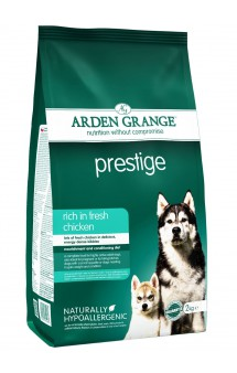 "Prestige rich in fresh chicken,""Престиж"" корм для собак с Курицей / Arden Grange (Великобритания)"