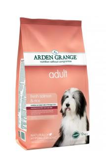 Fresh Salmon and Rice adult, корм для собак с Лососем и Рисом / Arden Grange (Великобритания)
