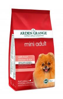 Mini Adult with fresh chicken and rice, корм для собак мелких пород с Курицей и Рисом / Arden Grange (Великобритания)