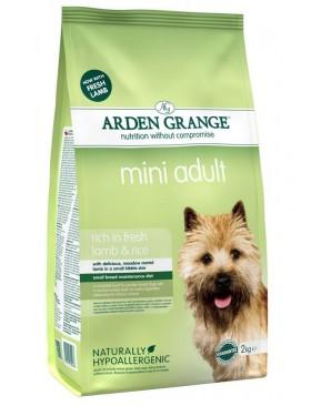 Mini Adult with fresh lamb and rice, корм для мелких пород собак с Ягненком и Рисом / Arden Grange (Великобритания)