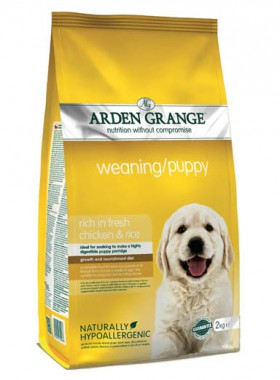 Weaning-Puppy, корм для щенков / Arden Grange (Великобритания)