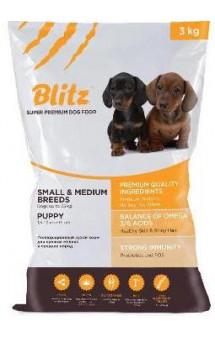 Blitz Puppy Small and Medium Breeds, корм для щенков / Provimi Petfood Rus