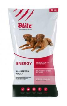 Blitz Adult Energy Dog, корм для спортивных и служебных собак / Provimi Petfood Rus