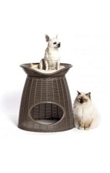 Домик для кошек с подушечками CUCCIA PASHA / BAMA PET (Италия)