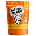"""MEOWING HEADS Paw Lickin Chicken  """"Куриное наслаждение"""", Паучи для кошек с Курицей / Real Pet Food (Великобритания)"""
