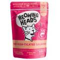 "MEOWING HEADS So-Fish-Ticated Salmon ""Фиш-гурман"", Паучи для кошек с Лососем,Курицей и Говядиной / Real Pet Food (Великобритания)"