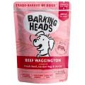 BARKING HEADS Beef Waggington, Паучи для собак с Говядиной / Real Pet Food (Великобритания)