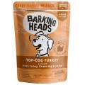 BARKING HEADS Top-dog Turkey, Паучи для собак с Индейкой / Real Pet Food (Великобритания)