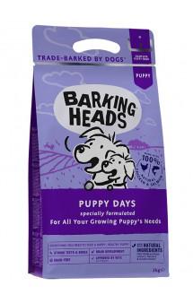 """BARKING HEADS Puppy Days,корм для щенков """"Щенячьи деньки""""  с Курицей и Лососем / Real Pet Food (Великобритания)"""