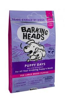 BARKING HEADS Puppy Days Large Breed, корм для щенков крупных пород / Real Pet Food (Великобритания)