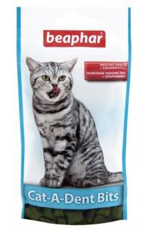 Cat-A-Dent Bits, подушечки для чистки зубов у кошек / Beaphar (Нидерланды)