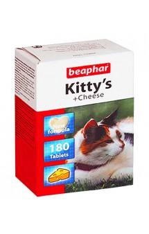 Kitty's + Cheese, витаминизированное лакомство для кошек / Beaphar (Нидерланды)