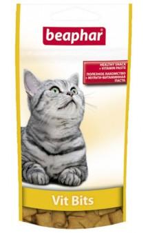 Подушечки Vit Bits, лакомство для кошек / Beaphar (Нидерланды)