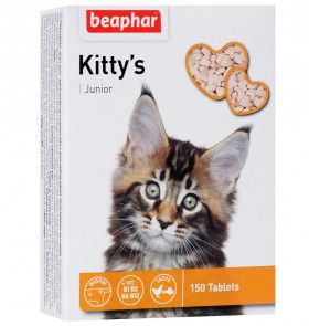 Kitty's Junior, дополнение к рациону котят / Beaphar (Нидерланды)