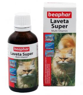 Laveta Super for Cats,  витамины для шерсти кошек / Beaphar (Нидерланды)
