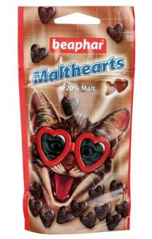 Сердечки Malthearts, лакомство для кошек с мальт-пастой / Beaphar (Нидерланды)