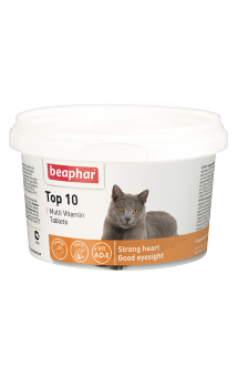 Витамины Тор 10, мультивитамины для кошек / Beaphar (Нидерланды)