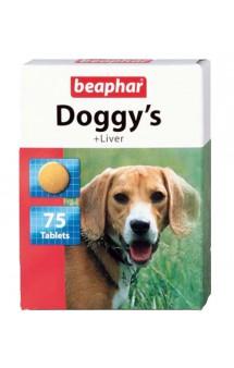 Doggy's + Liver, витаминизированное лакомство для собак / Beaphar (Нидерланды)