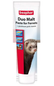 Duo Malt Paste, Паста с двойным действием для хорьков / Beaphar (Нидерланды)