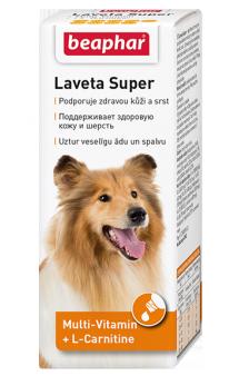 Laveta Super, витамины для шерсти собак / Beaphar (Нидерланды)