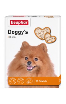 Doggy's + Biotin, витаминизированное лакомство для собак / Beaphar (Нидерланды)