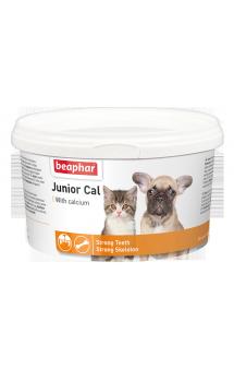 Junior Cal, минеральная добавка для щенков и котят / Beaphar (Нидерланды)