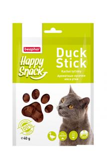 Happy Snack Duck Stick, ароматные кусочки из мяса Утки / Beaphar (Нидерланды)