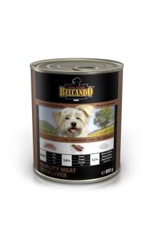 Belcando Meat with Liver, консервы с мясом и печенью для собак / Bewital Petfood (Германия)