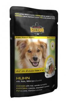 Belcando HUHN, паучи с курицей для собак / Bewital Petfood (Германия)