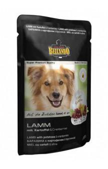 Belcando LAMM, паучи с ягненком для собак / Bewital Petfood (Германия)