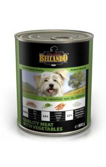 Belcando MEAT with VEGETABLES, консервы для собак Мясо с Овощами / Bewital Petfood (Германия)