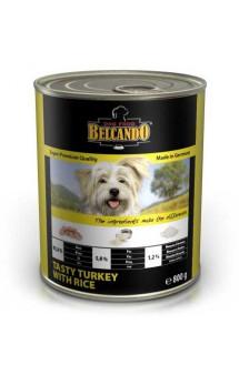 Belcando Tasty Turkey and Rice, консервы индейка и рис, для собак / Bewital Petfood (Германия)