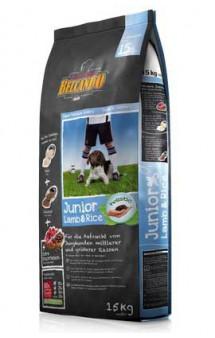 Belcando Junior Lamb and Rice, корм для щенков, Ягненок с Рисом / Bewital Petfood (Германия)