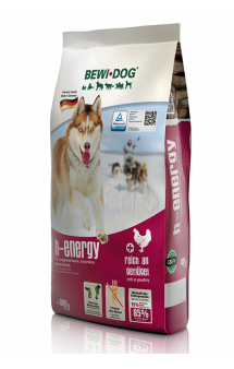 Bewi Dog H-Energy, корм с высоким уровнем протеина, для собак / Bewital Petfood (Германия)