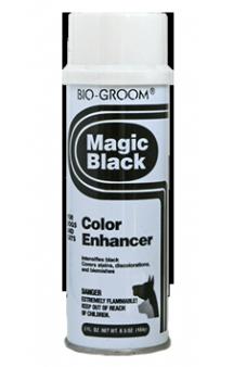 BIO-GROOM Magic Black, спрей-мелок, черный, выставочный / Bio-Derm Laboratories (США)