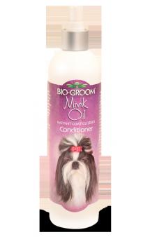 BIO-GROOM Mink Oil, Норковое масло,спрей для придания блеска м защиты от солнца / Bio-Derm Laboratories (США)